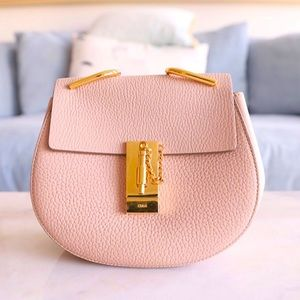 {Chloe} Mini Drew Cement Pink